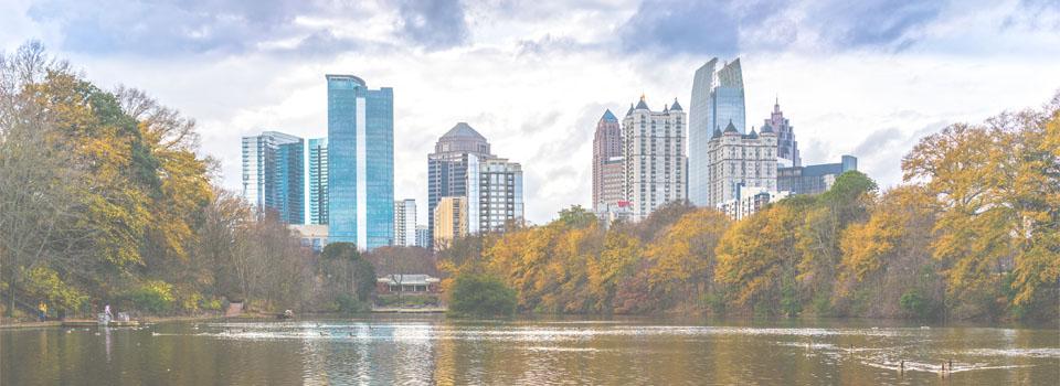 City of Atlanta GA view